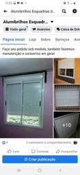 Conserto janelas, persianas, box banheiro