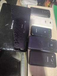 Lote de aparelhos para peça ou consertos