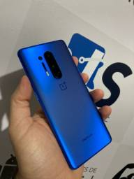 Título do anúncio: Oneplus 8 Pro 12/256gb Blue Snapdragon 865 Novo completo Troco