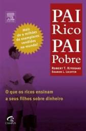 Compro livro PAI RICO PAI POBRE
