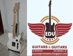 Guitarra Fender Telecaster Standard Mexicana Arctic White