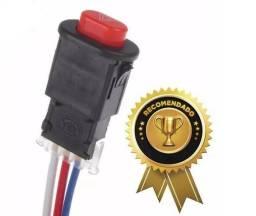 Botão Interruptor Pisca Alerta Para Motos ou carros
