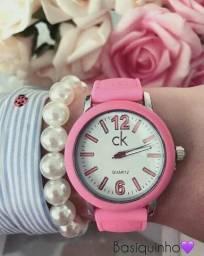 Relógio Calvin Klein silicone