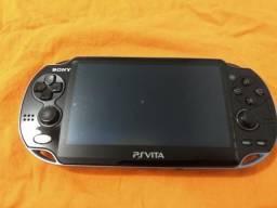 Psvita desbloqueado 3.60 + jogo Uncharted + cartão 4gb