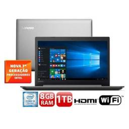 Lenovo Core i5-7200U 8GB 1TB Tela 15.6? Windows 10 Ideapad 320