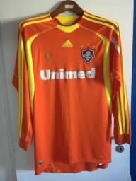 Camisa Fluminense Goleiro Laranja 2009 - Original - Usada fcf64d323a7de