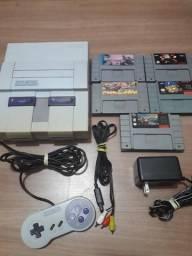 Super Nintendo 5 jogos