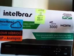 Kit DVR e Câmera Intelbras