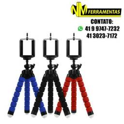Tripé Flexível Universal Suporte Celular Câmera 25cm Mb84206