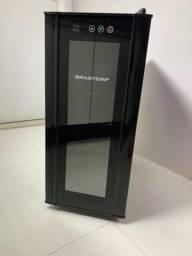 Adega Brastemp 12 Garrafas com painel touch - All black