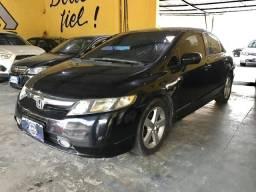 Honda Civic Preto 2008 Automático - 2008