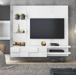 Painel Suspenso Home Turim 100% MDF, ideal para TV?s até 55 Polegadas - Entrega Imediata!