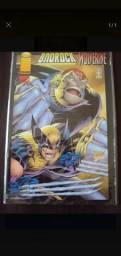 Badrock Wolverine edição única de colecionador