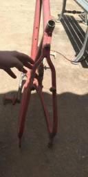 Quadro bicicleta de alumínio