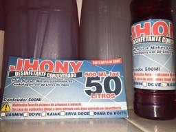 Base concentrada para Desinfetante Jhony