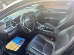 Lindo Honda Civic EXL, 18/18, preto, apenas 18.000 km - 2018