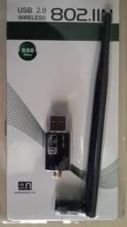 Adaptador WiFi para PC e Notebook