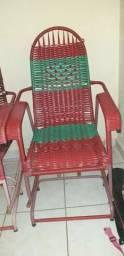 Vendo essas duas cadeira de balanço as duas 150