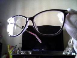 Óculos original Tiffany   C0 Italy armação acetato com cristais de grife ab2627ea72