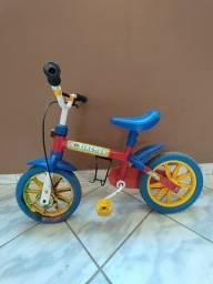 Bicicleta Infantil Nathor Masculina Fireman Aro 12