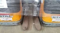 Paleteira Elétrica Still Completa ? Garfo Duplo 02 pallets 2013 - #2965