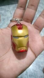 Chaveiro Capacete Homem de Ferro