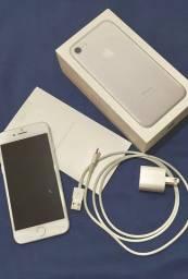 iPhone 7 de 256GB - Prata - Único dono