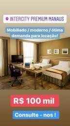 Flat / Mobiliado / Moderno / Adrianópolis / Ótima demanda para Localização!!