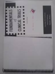 """DOAÇÃO -> Fotocópia de livro (em inglês): """"Fundamentals of Clinical Trials."""""""