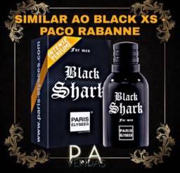 Perfume Black Shark 100ml - Paris Elysees