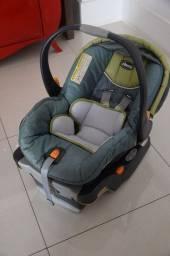 Bebê Conforto Chicco Keyfit em Tecido Cinza 45cm x 45cm x 72cm