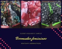 Bermudas femininas
