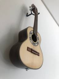 Cavaquinho Carlinhos Luthier N2 elétrico. NOVO NA CAIXA
