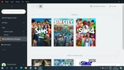 The sims 4 e expansões + Simcity | Conta origin!