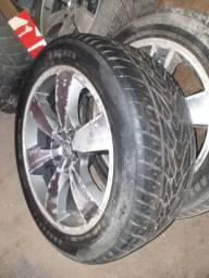 Vendo rodas com pneus aro 20