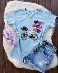 Kit com 3 blusas