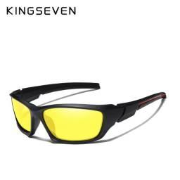 Óculos Visão Noturna Kingseven Polarizado