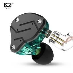 Fone Kz Zsn In Ear Encorpado Profissional Retorno Palco + Bag