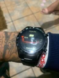 Smart watch pulseira de aço
