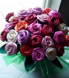 Buquê de flores artificiais!