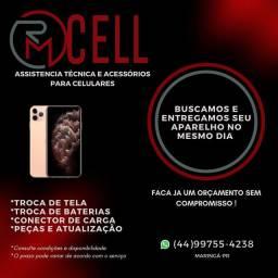 Assistência tecnica de celulares RM Cell Maringá