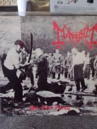 Título do anúncio: Mayhem LP Importado disco de Black Metal