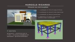 Projetista - projeto arquitetônico, estrutural e para prefeitura