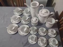 Jogo de chá e café completo