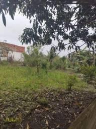 Título do anúncio: Terreno lado praia, 250 m² por R$ 75.000 - Estância Balneária Tupy - Itanhaém/SP