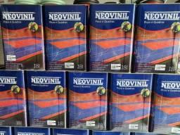 Liquida tinta piso 18L Neovinil na Cuiabá tintas   .. imperdível!!!
