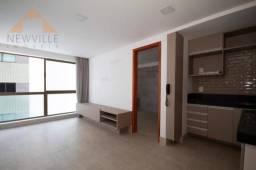 Apartamento com 1 quarto para alugar, 28 m² por R$ 2.950/mês - Boa Viagem - Recife