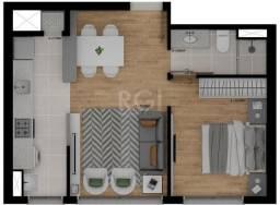 Apartamento à venda com 1 dormitórios em Passo da areia, Porto alegre cod:EL56357232
