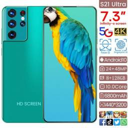 Título do anúncio: Celular HD Screen Azul