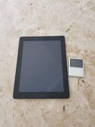 iPad 2a Geração 16gb + iPod Nano 4gb funcionando